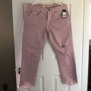 Mossimo Pink Boyfriend Jeans